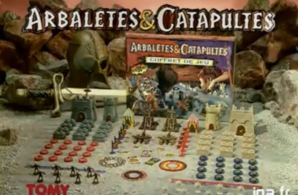 Le jeu de société arbalètes et catapultes