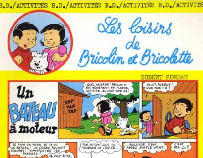 Bricolin et Bricolette… So 70's