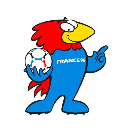 Footix la mascotte france 98 sweet flashback - La mascotte de la coupe du monde 2014 ...