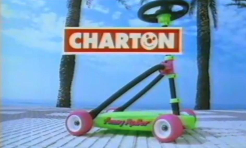La trottinette à 4 roues avec volant Funny roller