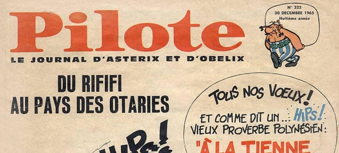 Le magazine Pilote